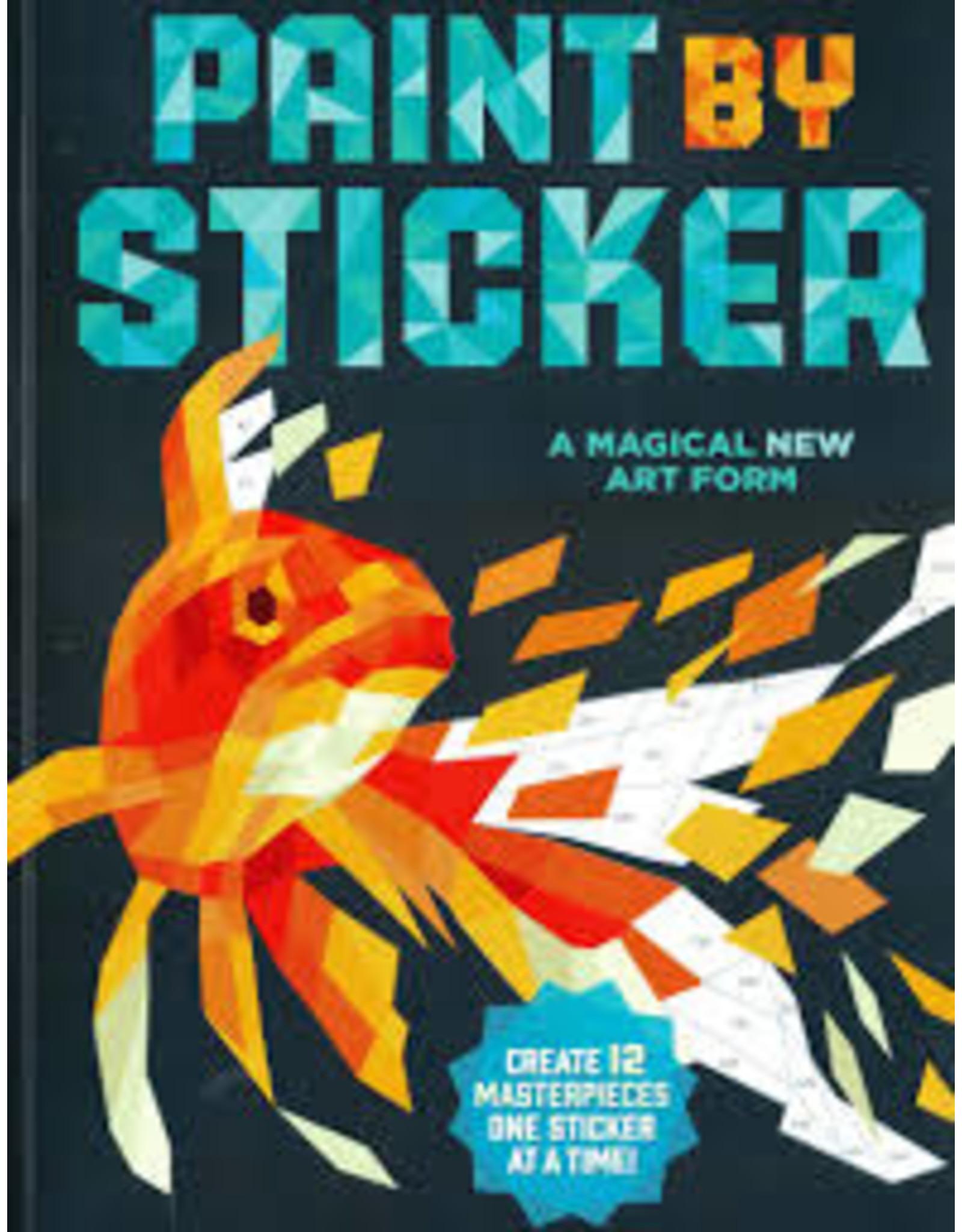 Books Paint By StickerWorkman