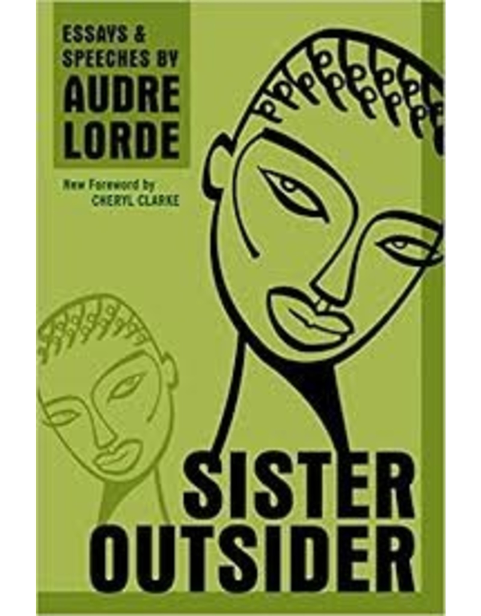 Books Sister Outsider by Audre Lorde