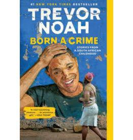Books Born a Crime by Trevor Noah pb