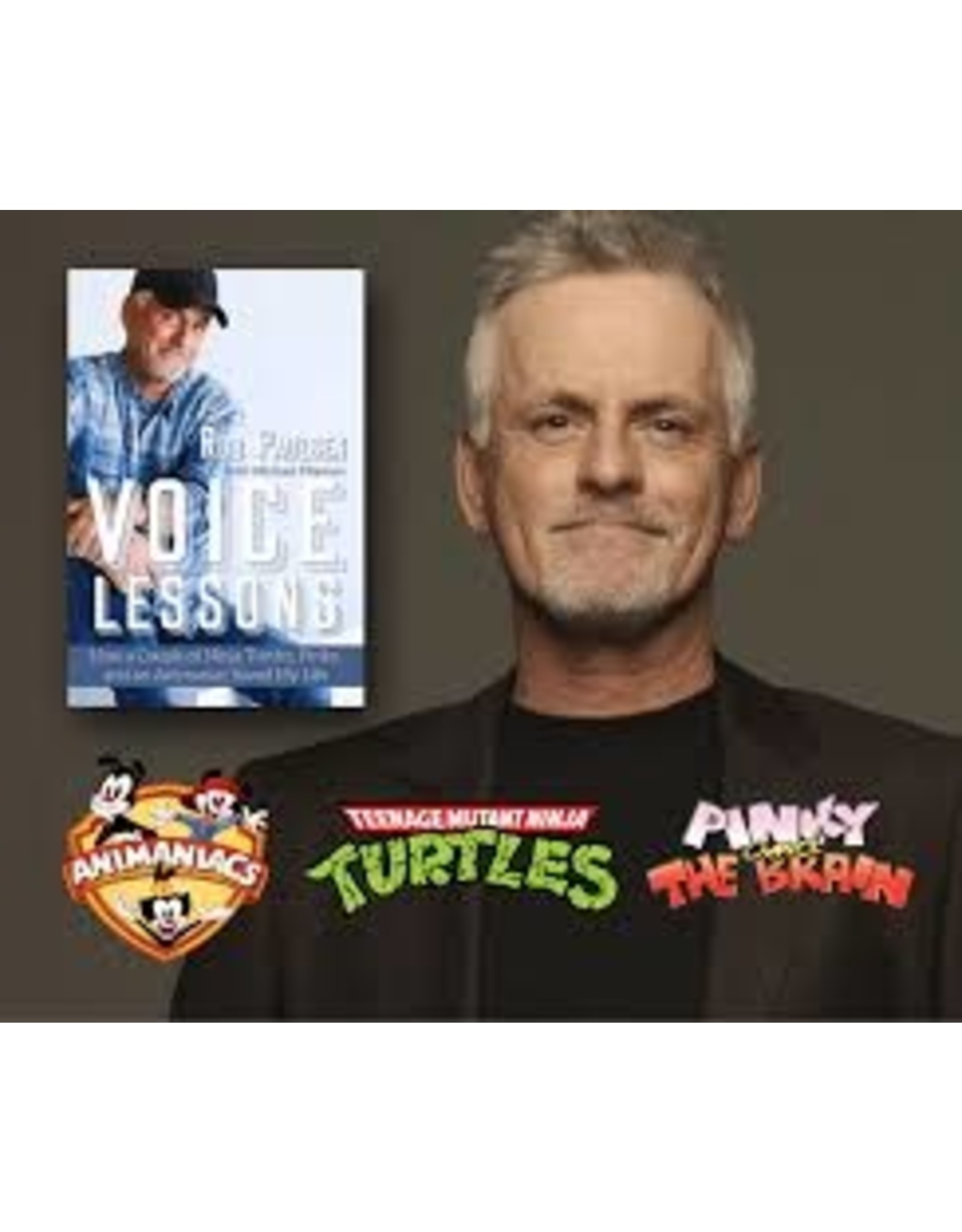 Books Voice Lessons by Rob  Paulson