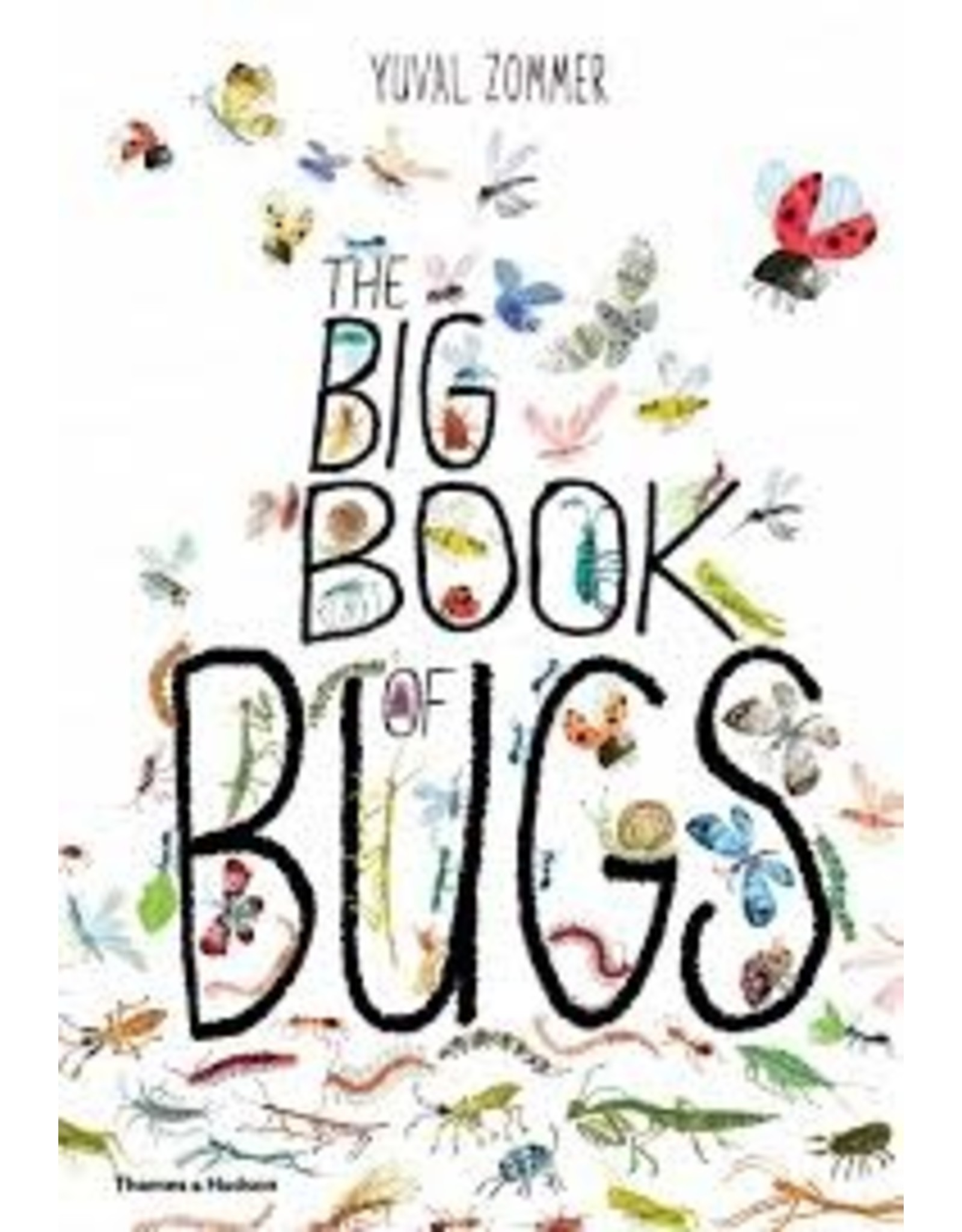 Books The Big Sticker Book of Bugs by Yuzal Zommer