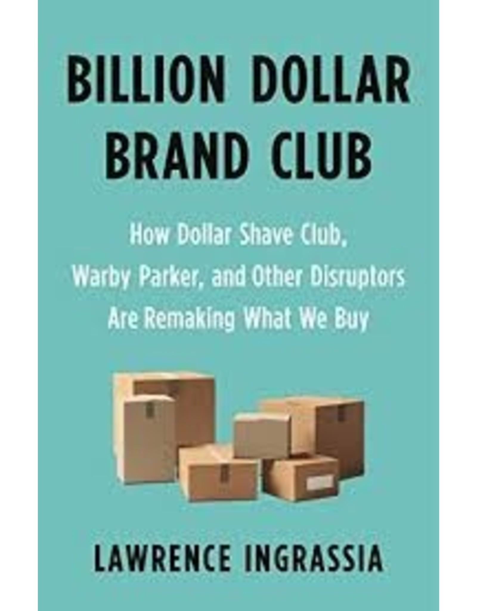 Books Billion Dollar Brand Club by Lawrence Ingrassia