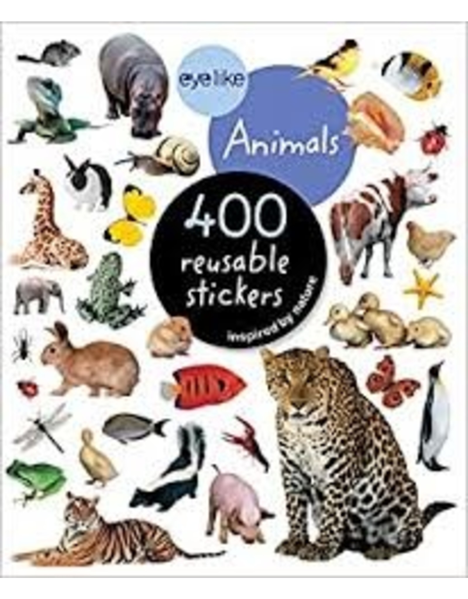 Books Eye Like Animals 400 Resuable stickers