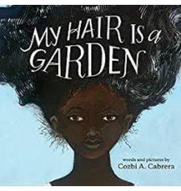 Books My Hair is a Garden by Cozbi A. Cabrera (DWS)
