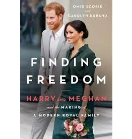 Books Finding Freedom: Harry and Meghan and the Making of A Modern Royal Family by Omid Scobie and Carolyn Durand