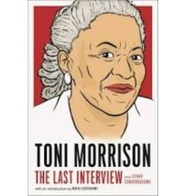 Books The Last Interview Toni Morrison w/ Introduction by Nikki Giovanni