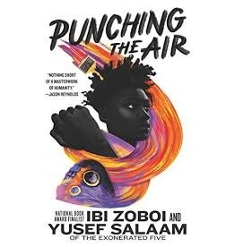 Books Punching the Air by Ibi Zoboi and Yusef Salaam (Signed First Editions)