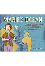 "Books Marie's Ocean"" Marie Tharp Maps the Mountains Under the Sea by Josie James"