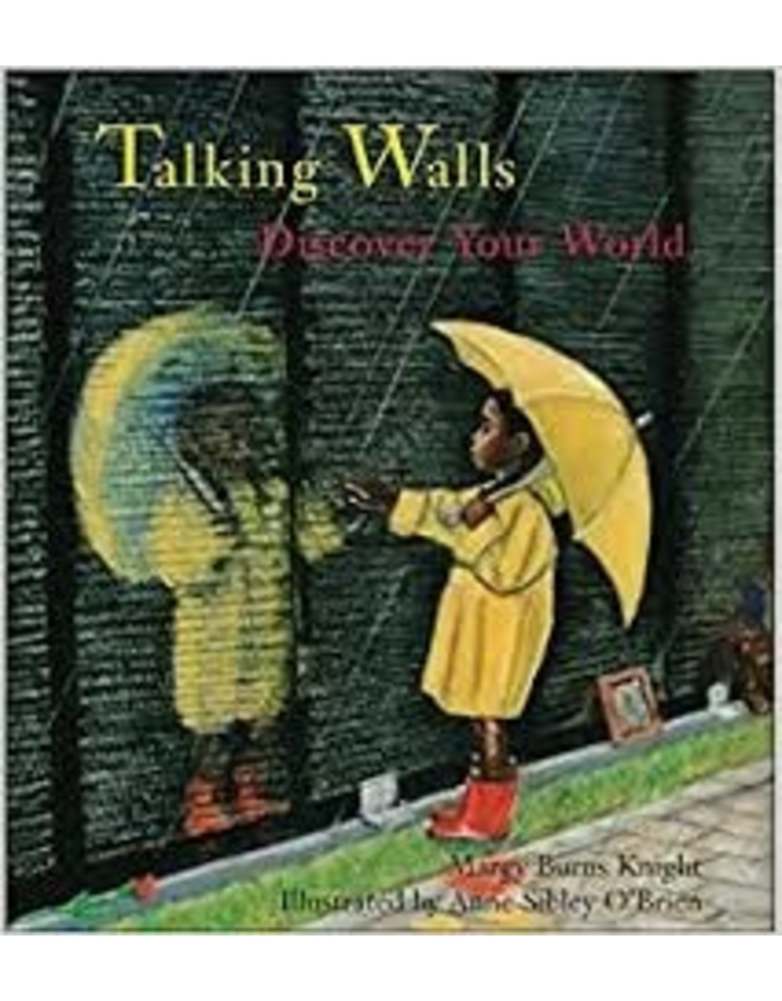 Books Talking Walls byMargy Burns Knight (DWS)