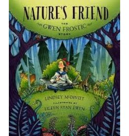 Books Natures Friend : The Gwen Frostic Story by Lindsey McDivitt  & Illustrated  by Eileen Ryan Ewen (DWS)