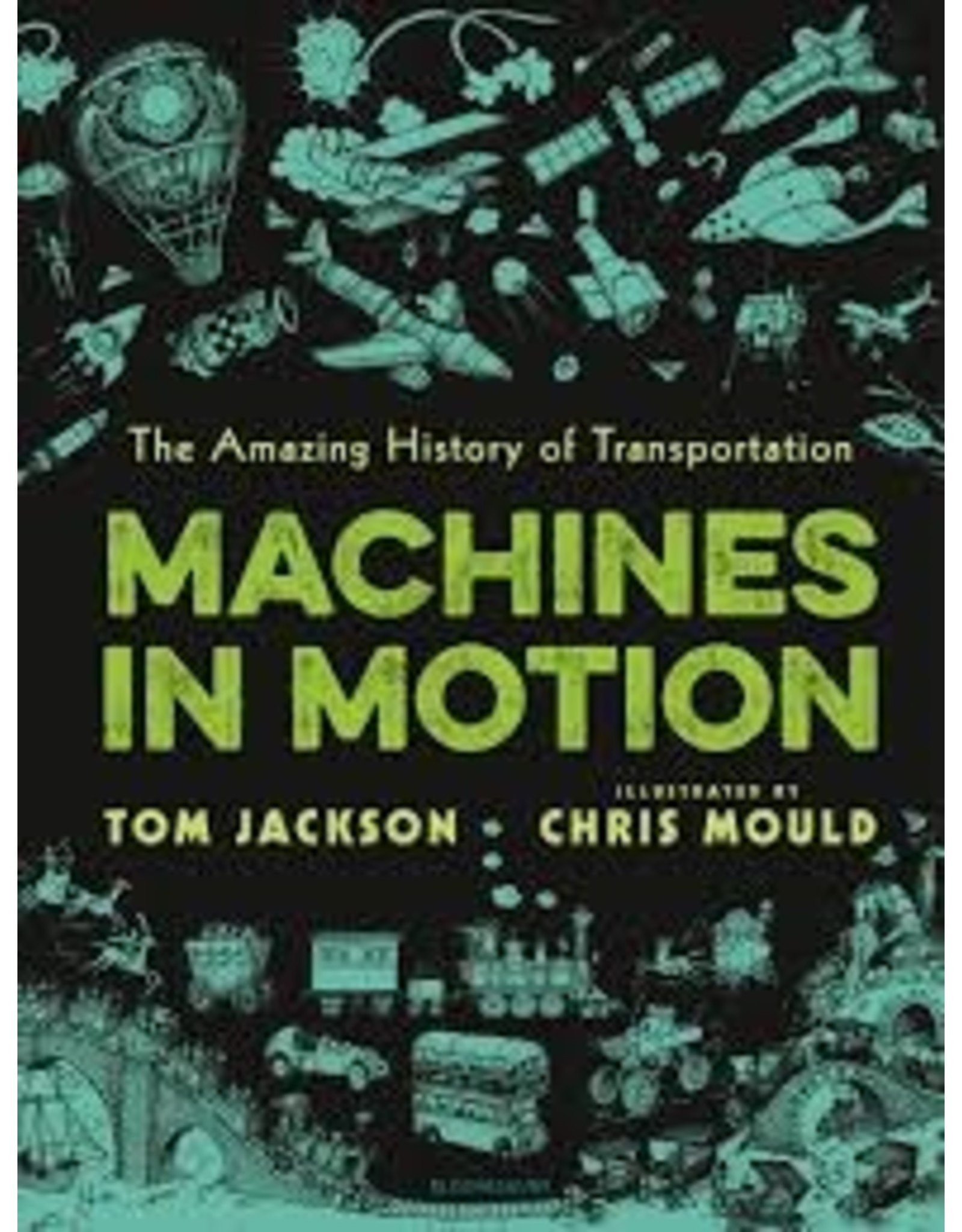 Books Machines in Motion  by Tom Jackson (DWS)