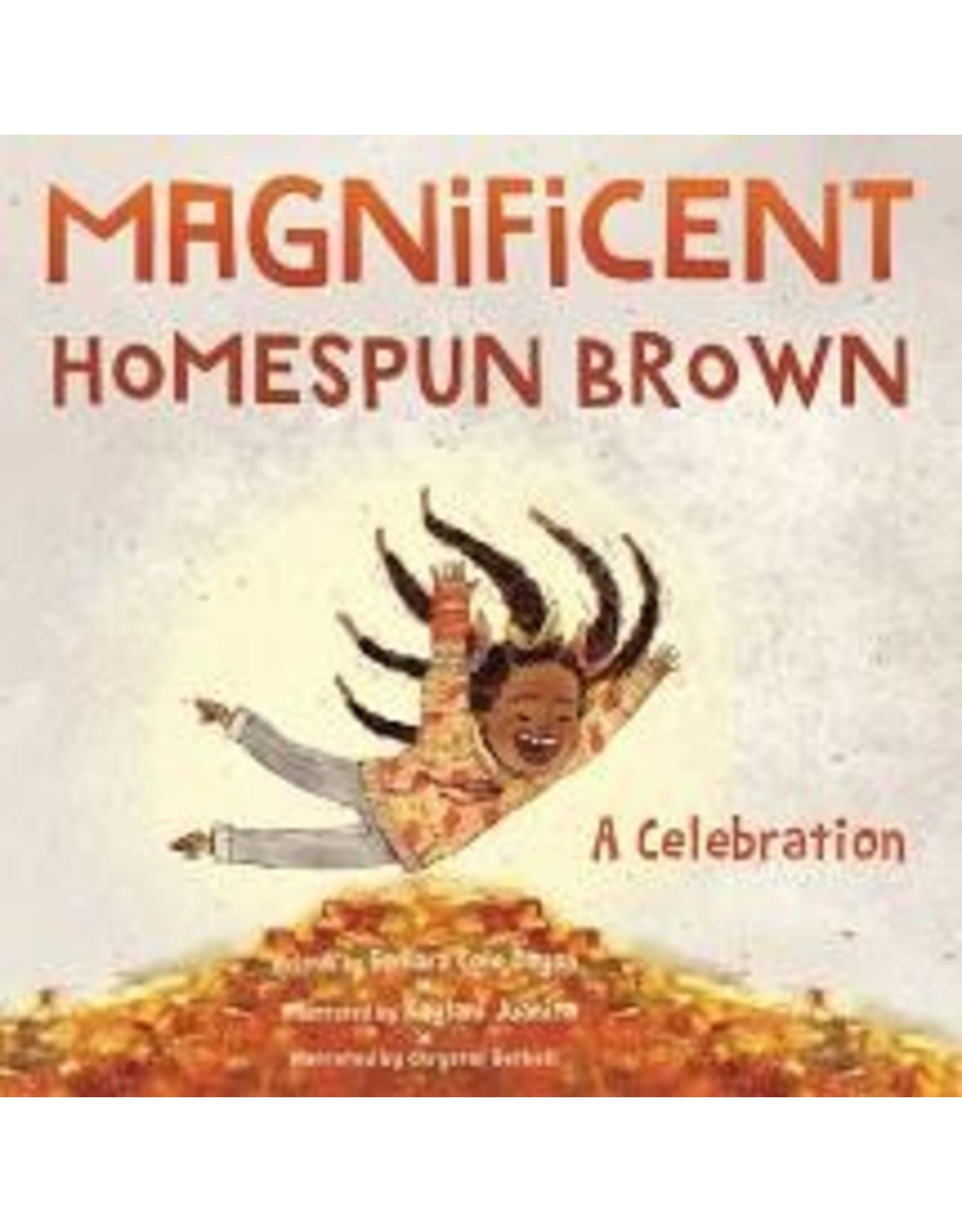 Books Magnificent Homespun Brown by Samara Cole Doyon (DWS)