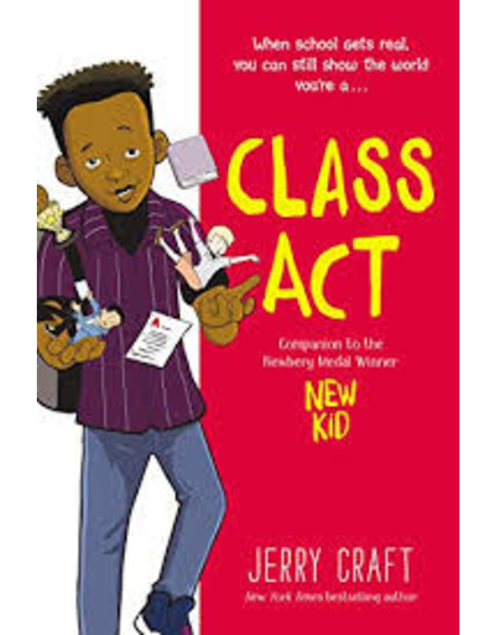 Books Class Act by Jerry Craft