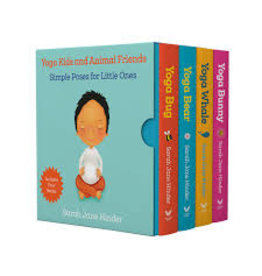 Books Yoga Kids and Animals Friends Box Set by Sarah Jane Hinder (Black Friday 2020)