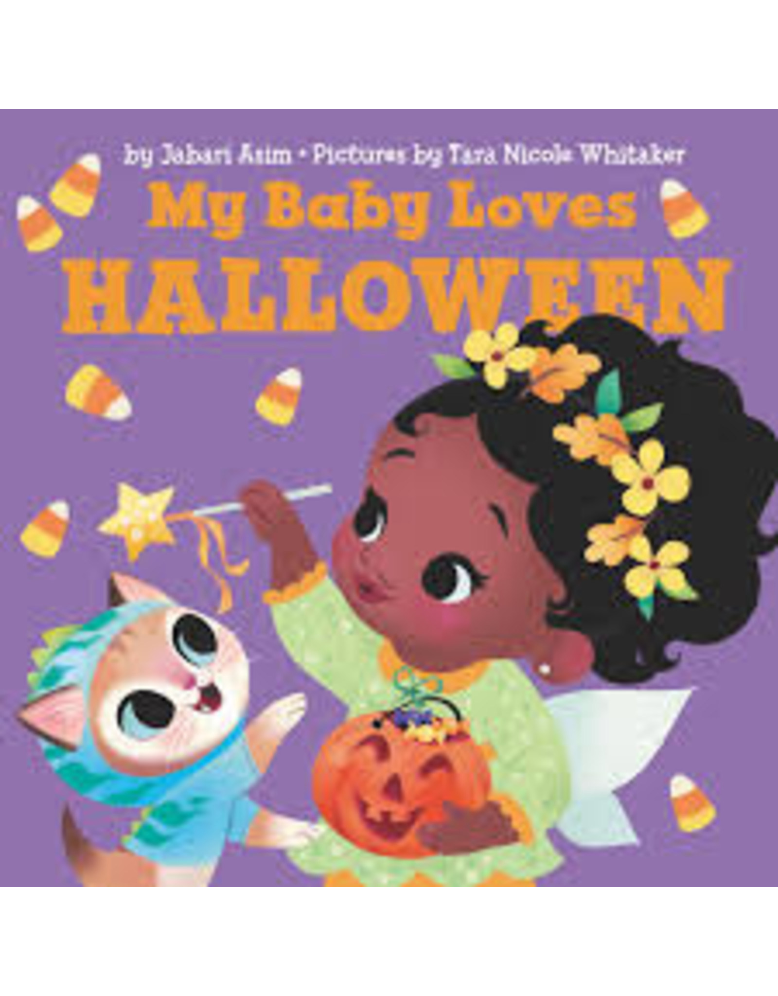Books My Baby Loves Halloween by Jabari Asim