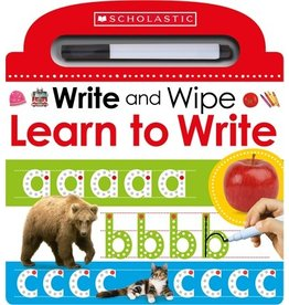Books Learn to Write: Scholastic Early Learners (Write and Wipe) (Parent's Night)