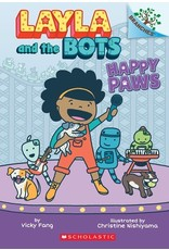 Books Happy Paws: A Branches Book (Layla and the Bots #1) ( Parent's Night)