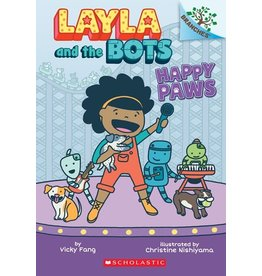 Books Happy Paws: A Branches Book (Layla and the Bots #1)
