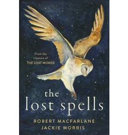 Books the lost spells by Robert MacFarlane and Jackie Morris  Signed copies  (shopsmall2020)