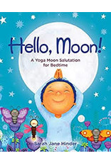 Books Hello Moon! A Yoga Moon Salutation for Bedtime by Sarah Jane Hinder