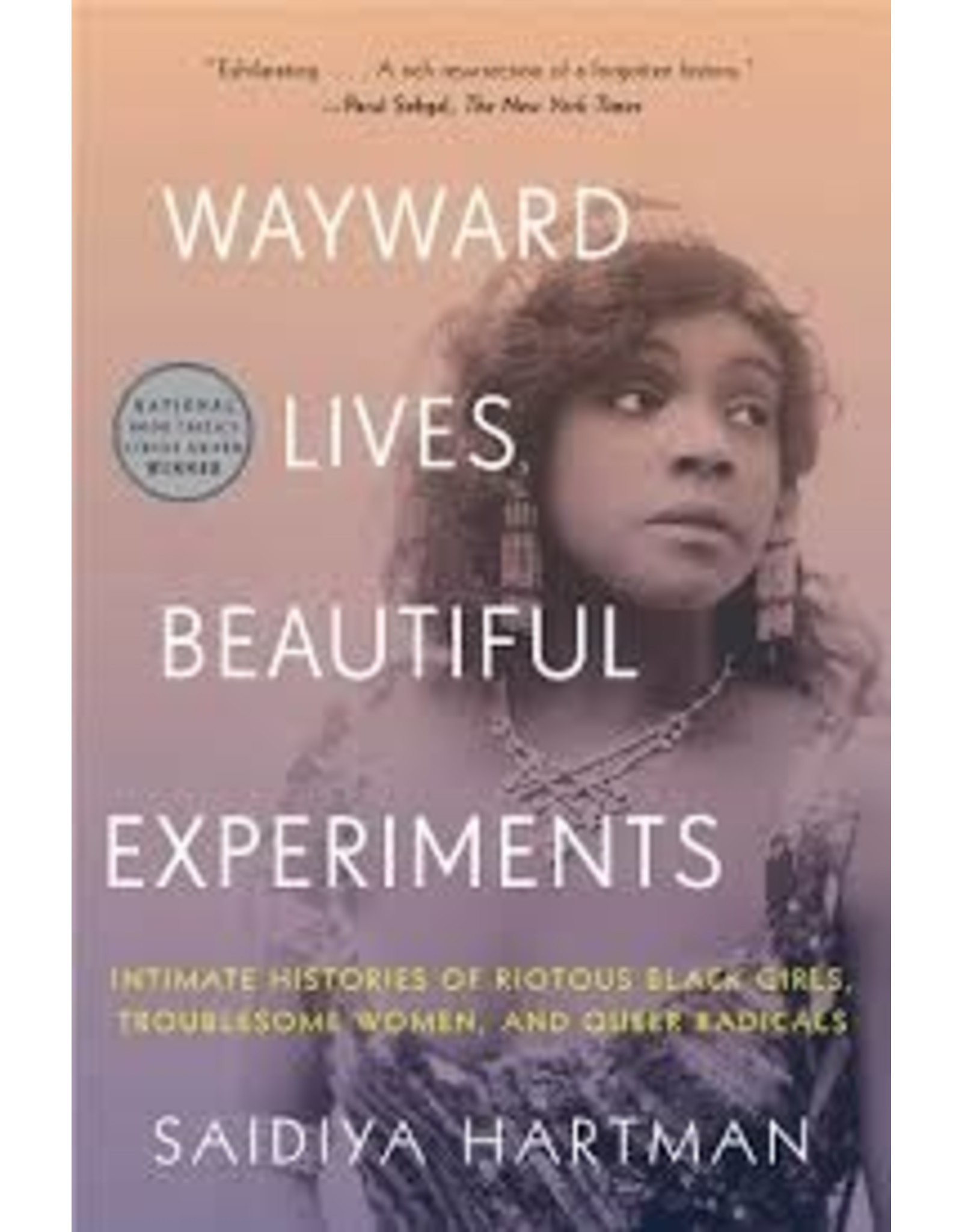 Books Wayward Lives, Beautiful Experiments by Saidiya Hartman (Holiday Catalog)