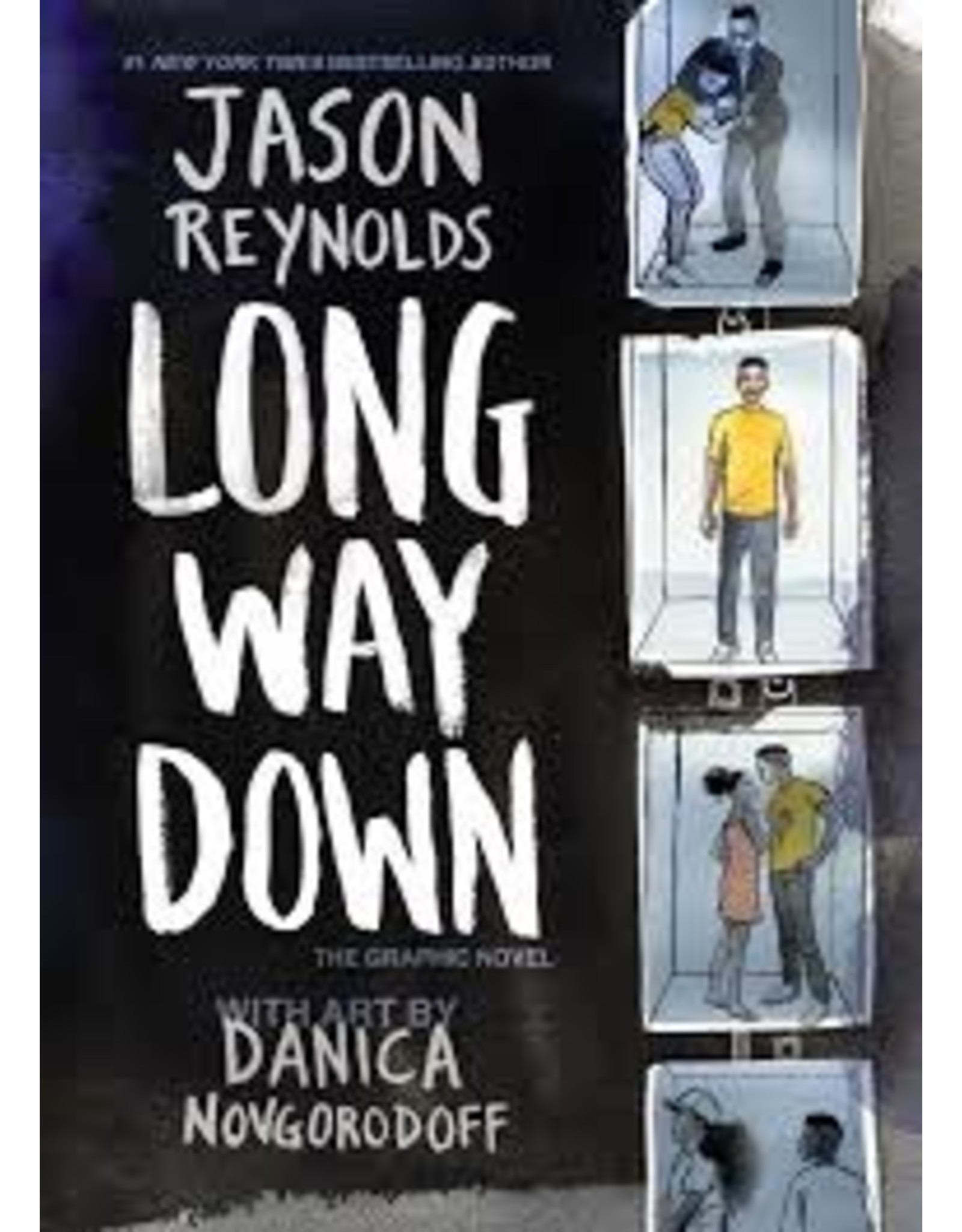 Books Long Way Down : The Graphic Novel by Jason Reynolds with Art by Danica Novgorodoff ( Holiday Catalog)
