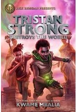 Books Tristan Strong Destorys the World  by Kwame Mbalia ( Holiday Catalog)