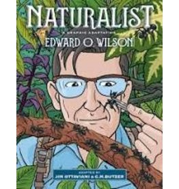 Books Naturalist: A Graphic Adaption  by Edward  O. Wilson  & Adapted by Ottaviani & Butzer (Holiday Catalog)