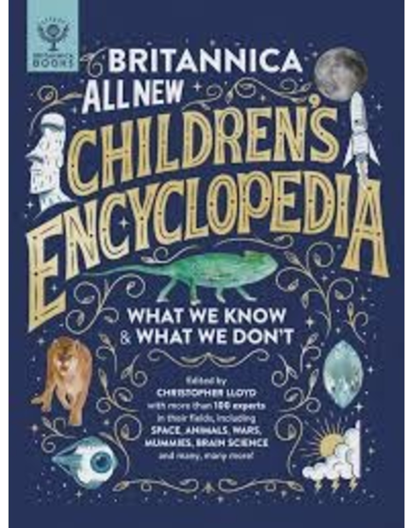 Books Britannica All New: Kids Encyclopedia What We Know  & What We Don't (Holiday Catalog 21)