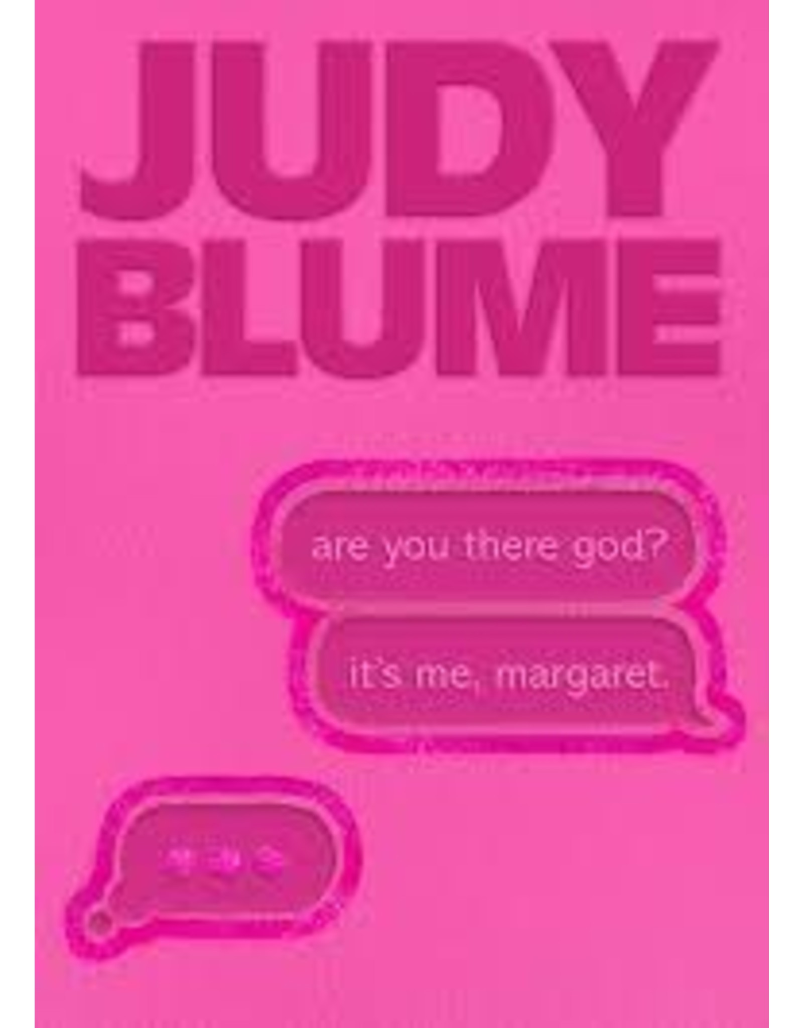 Books are you there god? its me margaret by Judy  Blume ( Holiday Catalog)