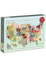 Games, Puzzles & Cards USA State Flowers Puzzle