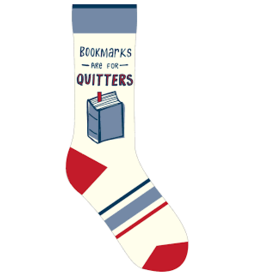 Books Bookmarks are for Quitters Socks (shopsmall2020)