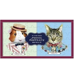 Games, Puzzles & Cards Animal Portrait Puzzle (shopsmall2020)
