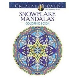 Books Snowflake Mandalas Coloring Book  by Creative Haven (shopsmall2020)