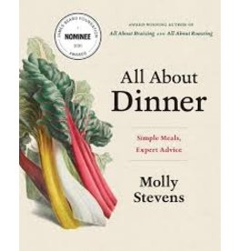 Books All About Dinner by Molly Stevens