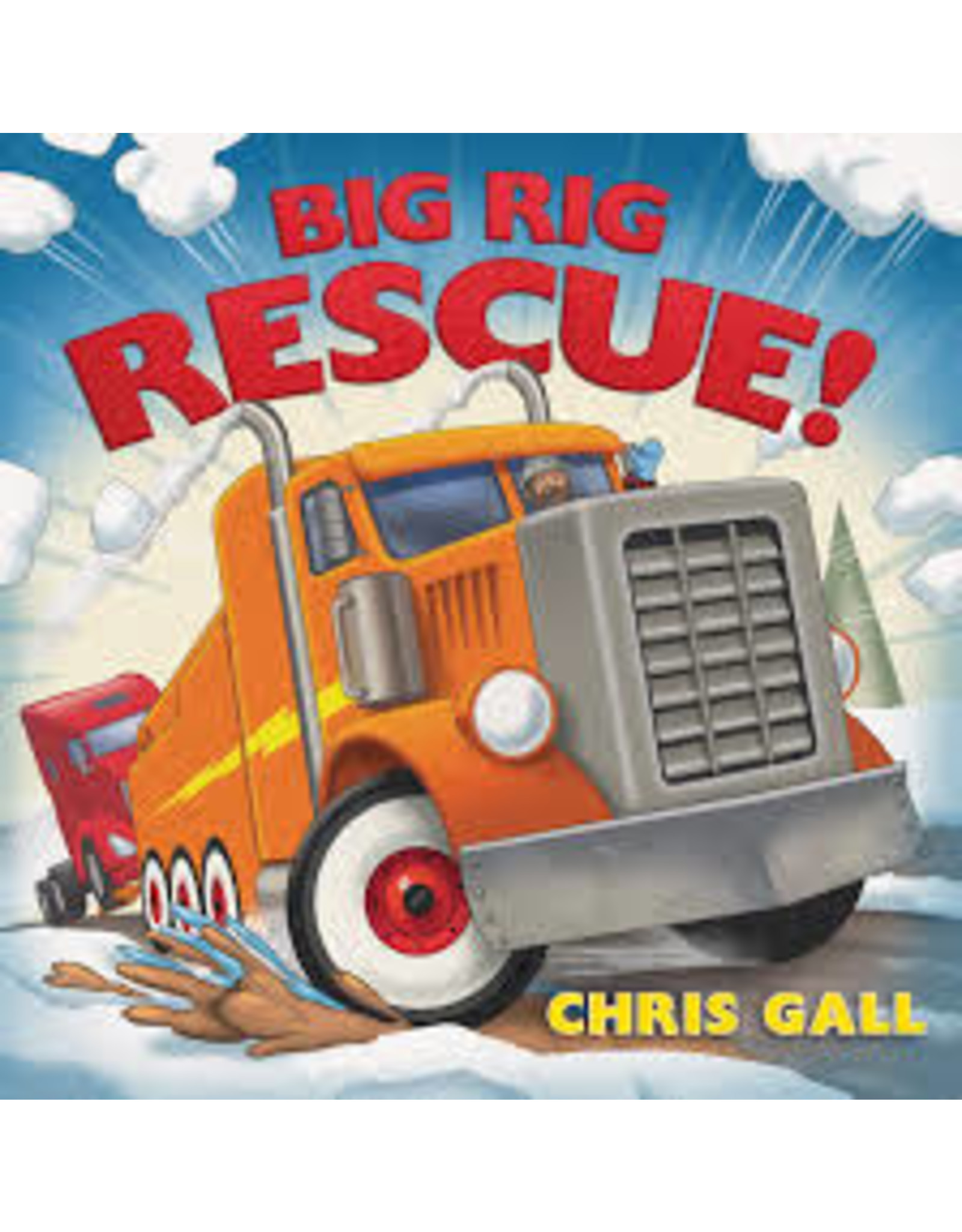 Books Big Rig Rescue by Chris Gall