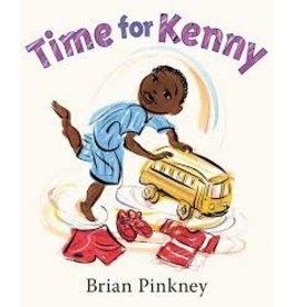 Books Time for Kenny by Brian Pinkney