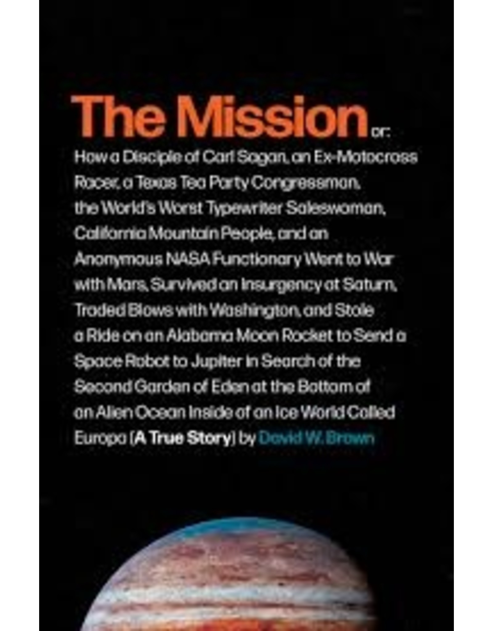 Books The Mission by David W. Brown