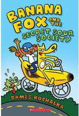 Books Banana Fox and the Secret Sour Society by James Kochalka (Parent's Night)
