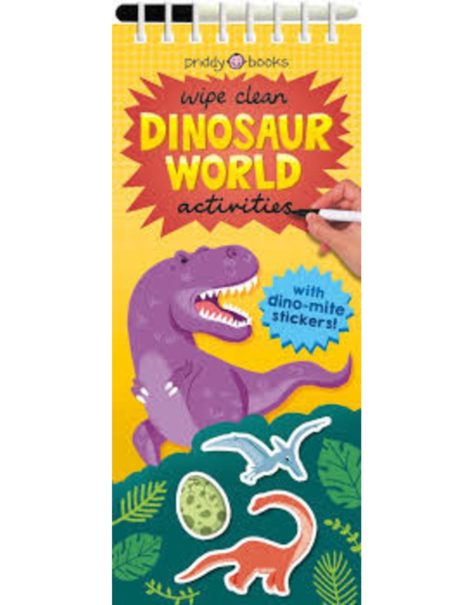 Books Wipe Clean Dinosaur World Activities