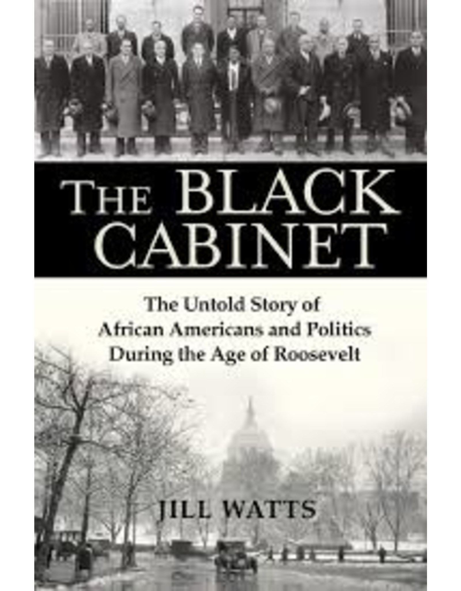 Books The Black Cabinet: The Untold Story of African Americans and Politics During the Roosevelt Age by Jill Watts