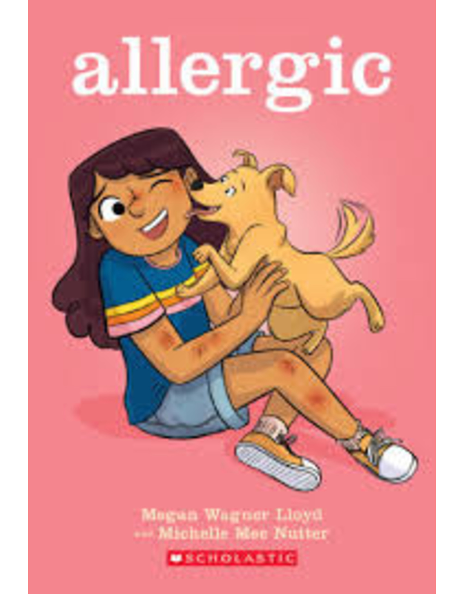 Books Allergic by Megan Wagner Lloyd and Michelle Mee Nutter (Parent's Night)
