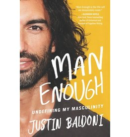 Books Man Enough : Undefining My Masculinity  by Justin Baldoni  {Signed } (Pre-Order)