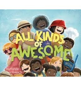 Books All Kinds of Awesome by Jess Hitchman  Illustrated by Vivienne To