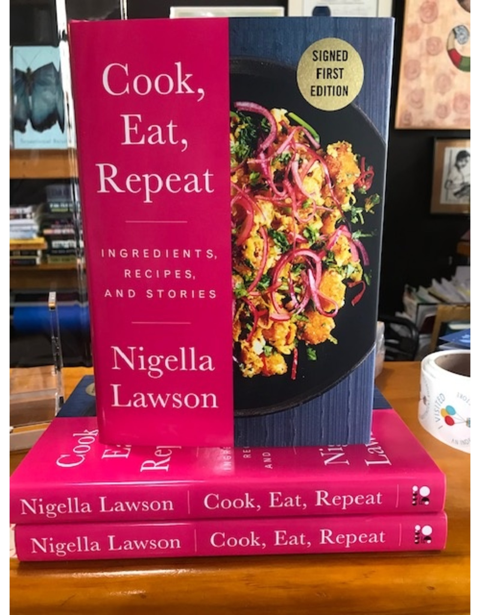 Books Cook, Eat, Repeat : Ingredients, Recipes and Stories by Nigella Lawson {Signed First Edition} (IBD21)