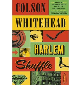 Books Harlem Shuffle : A Novel  by Colson Whitehead (Pre Order) with Sticker