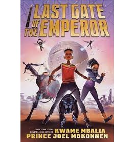 Books Last Gate of the Emperor by Kwame Mbalia and Prince Joel Makonnen  (Signed Copies)
