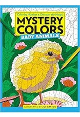 Books Mystery Colors: Color by Number & Discover the Magic!  Baby Animals  Illustrated by Joe Bartos