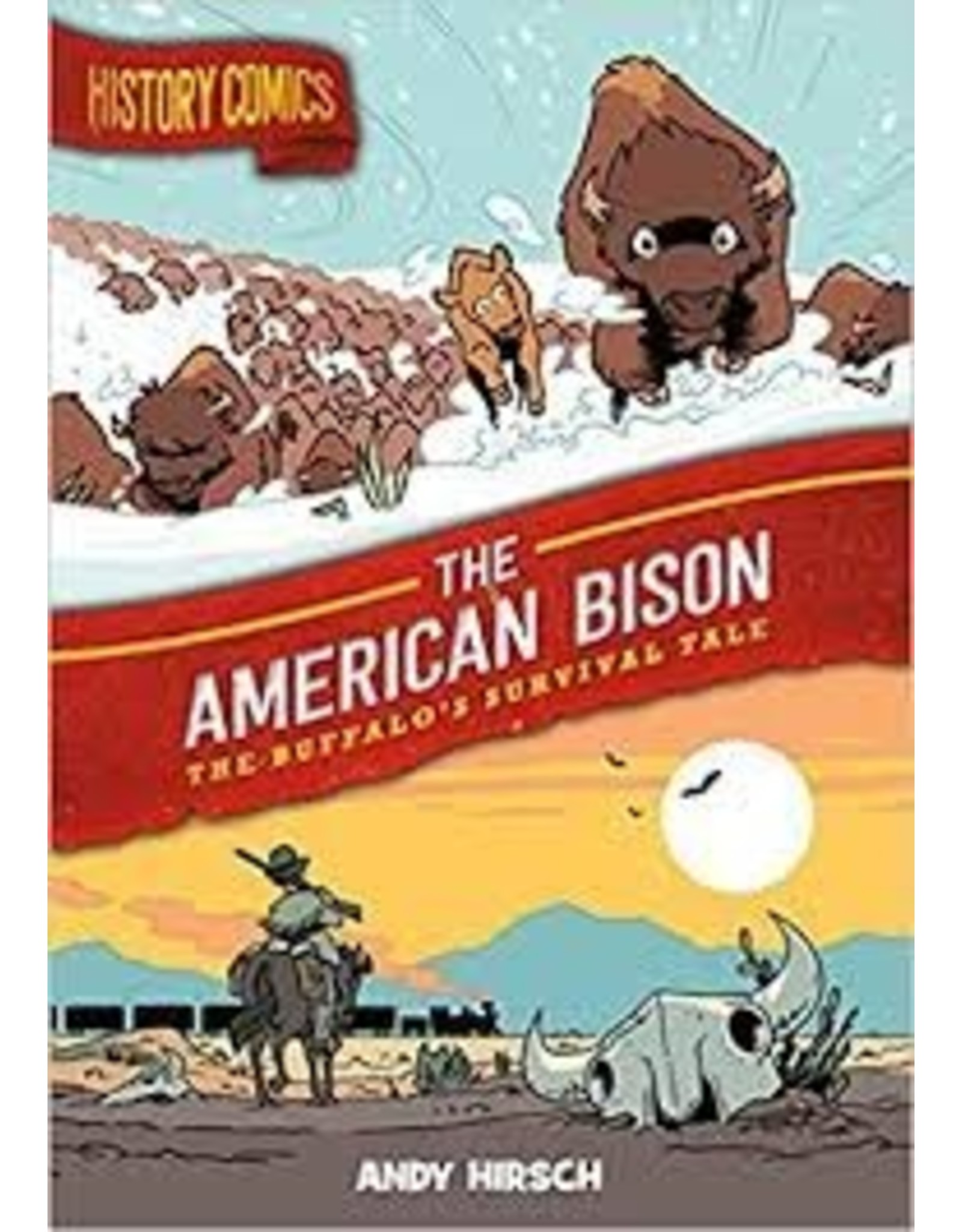 Books History Comics - The American Bison by Andy Hirsch
