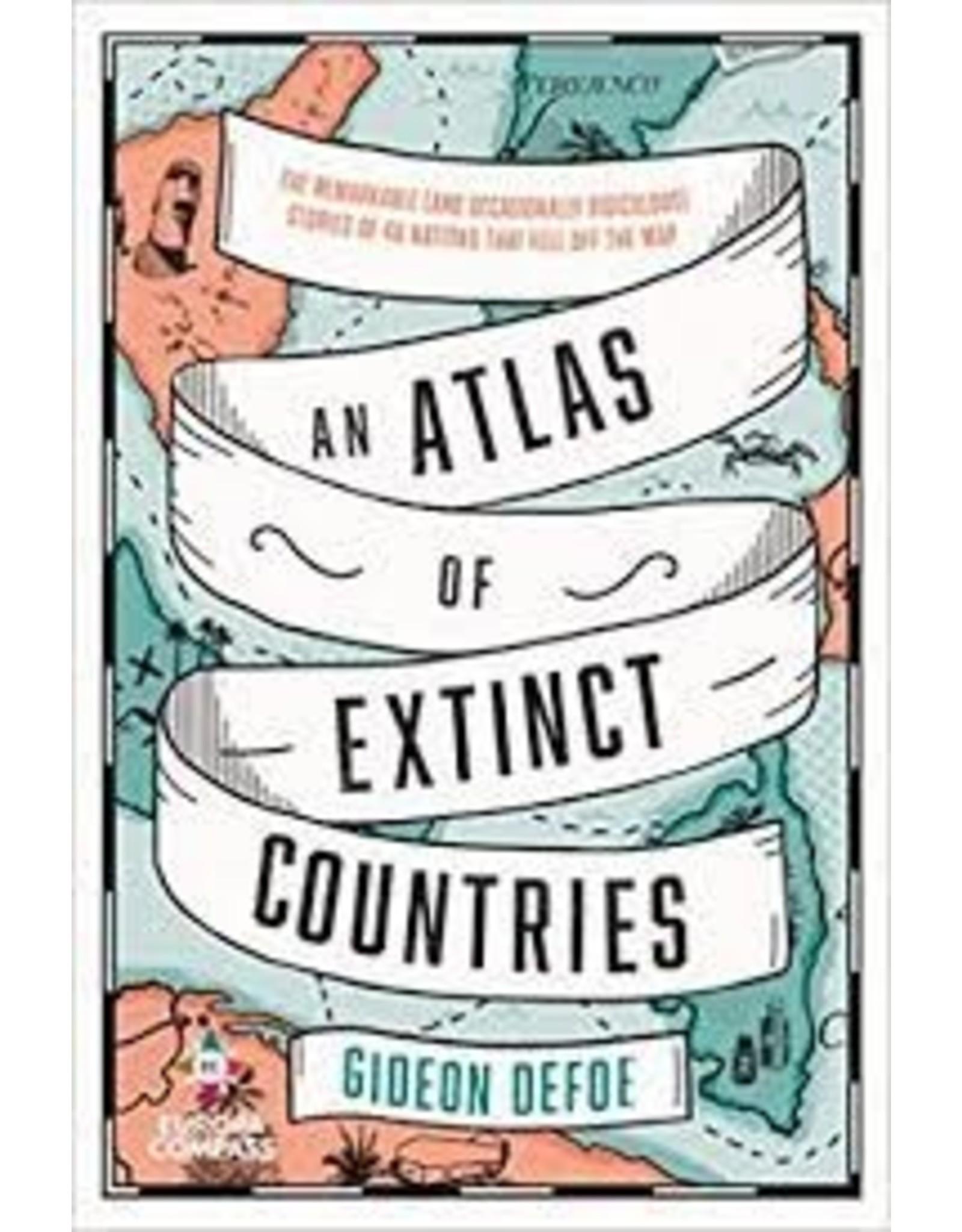 Books An Atlas of Extinct Countries by Gideon Defoe